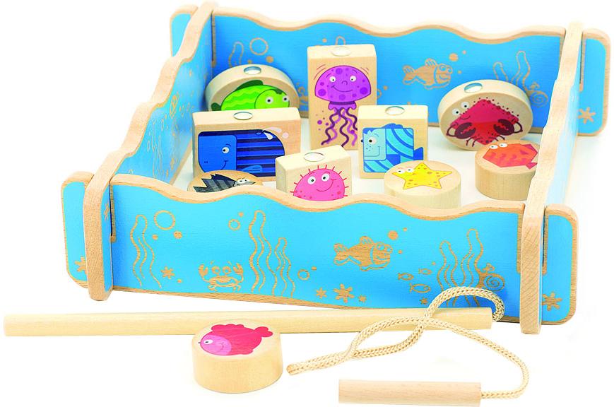 Мир деревянных игрушек Игровой набор Рыбалка
