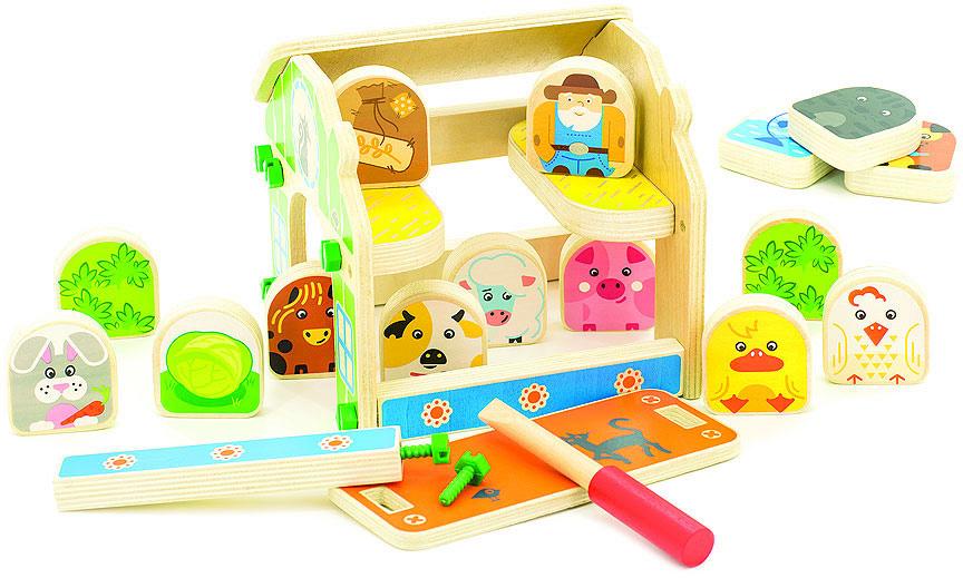 Мир деревянных игрушек Игровой набор Ферма - Игровые наборы