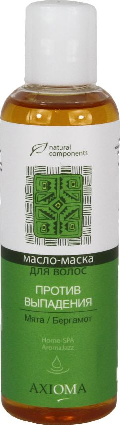 Axioma Масло для волос Против выпадения, 100 млAX8011Регулирует работу сальных желез, восстанавливает и уплотняет структуру волос, препятствует выпадению, освежает кожу головы.