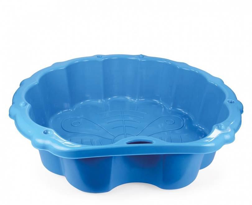 Mochtoys Песочница-бассейн с тентом цвет синий - Игры на открытом воздухе