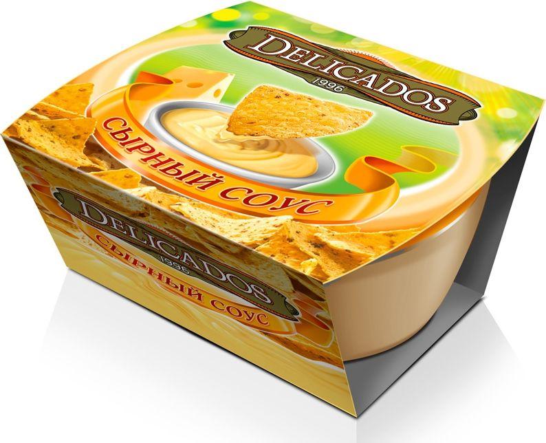 Delicados соус кесо сырный, 90 гбгэ006Соус сырный Кесо сочетается с Nachos Delicados, омлетами, пастой.