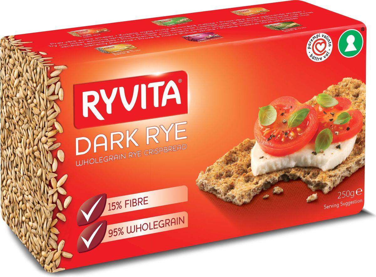 Ryvita Dark Rye хлебцы ржаные из цельного зерна, 250 гбрб004Хлебцы Ryvita являются лидером рынка Великобритании уже на протяжении 50 лет! Производство хлебцев началось в 1930 году, когда стали производить первые хлебцы Oiginal Dark Rye. При производстве своей продукции компания RYVITA 100% использует только рожь, выращенную в Великобритании. Компания постоянно работает с Британскими фермерами над развитием и улучшением ржаных культур для улучшения качества ржи и увеличения урожая ржи. Хлебцы RYVITA это 100% Британские цельнозерновые ржаные хлебцы, которые не подвергались процессу брожения и состоят из цельнозерновой ржаной муки, соли и воды. Хлебцы RYVITA выпекаются при высоких температурах без использования дрожжей, тесто приобретает правильную текстуру в процессе аэрации. В процессе выпекания воздух подается в охлажденное тесто, при этом верхний слой хлебцев приобретает светлый цвет готового хлеба.