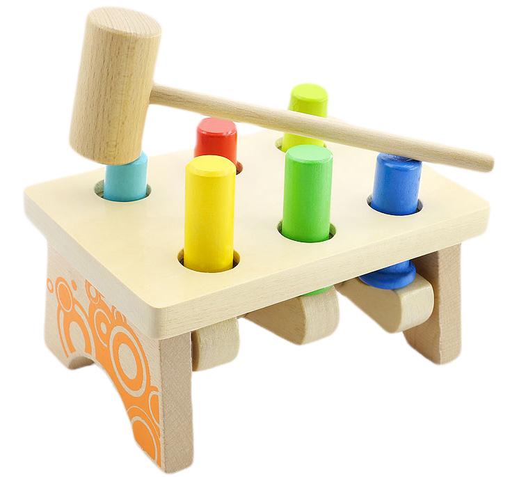 Мир деревянных игрушек Развивающая игрушка Гвозди-перевертыши 2 игрушка мир деревянных игрушек гвозди перевертыши 2 д092