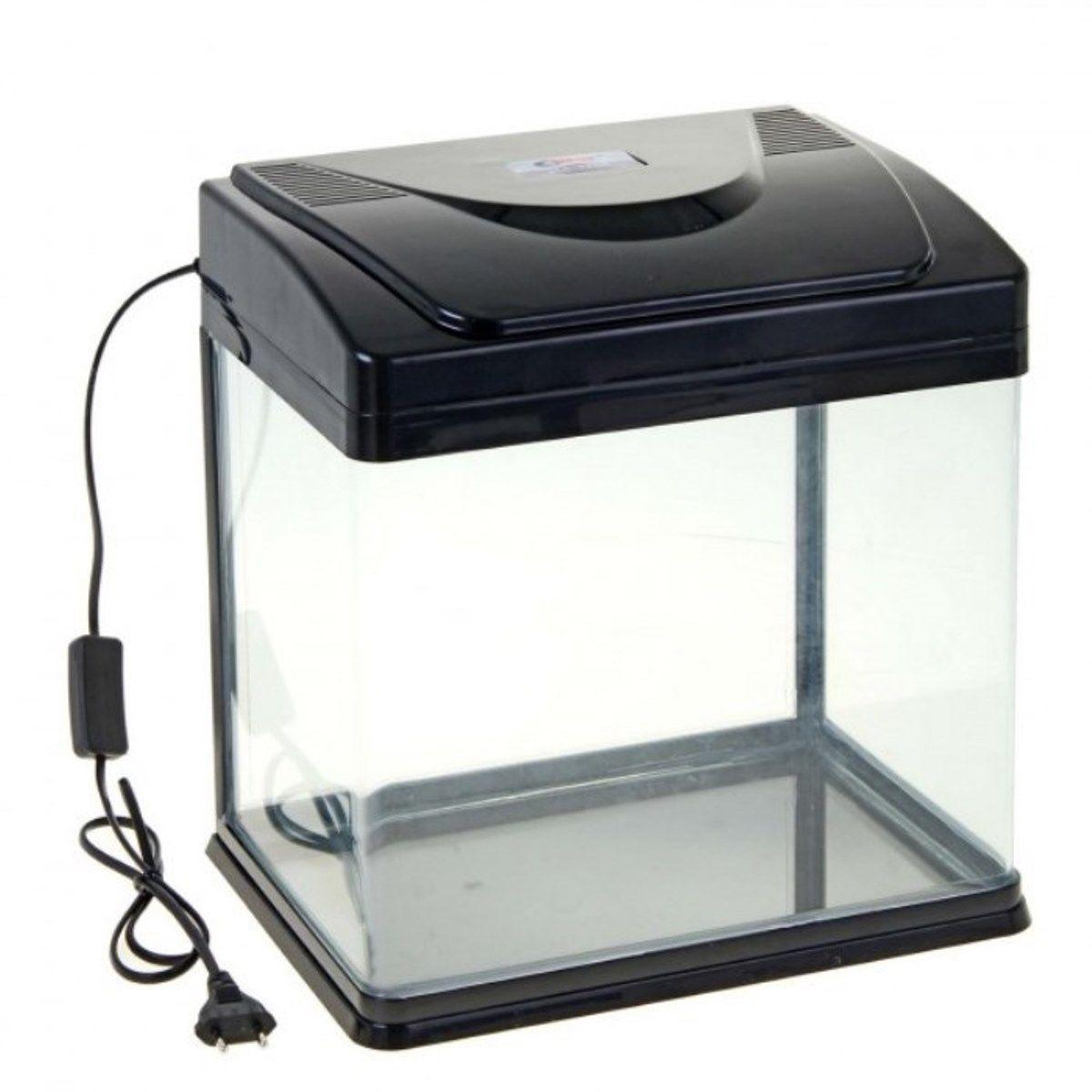 Аквариум Sea Star HX-320F, цвет: черный, 22 лHX-320F blackСветодиодная подсветка и встроенный фильтр. Как выбрать аквариум и как за ним ухаживать – статья на OZON Гид.