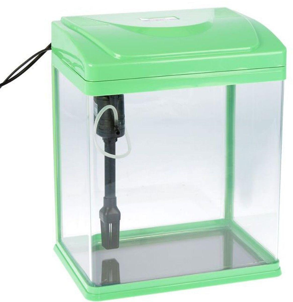 Аквариум Sea Star  HX-320ZF , цвет: зеленый, прозрачный, 28 л