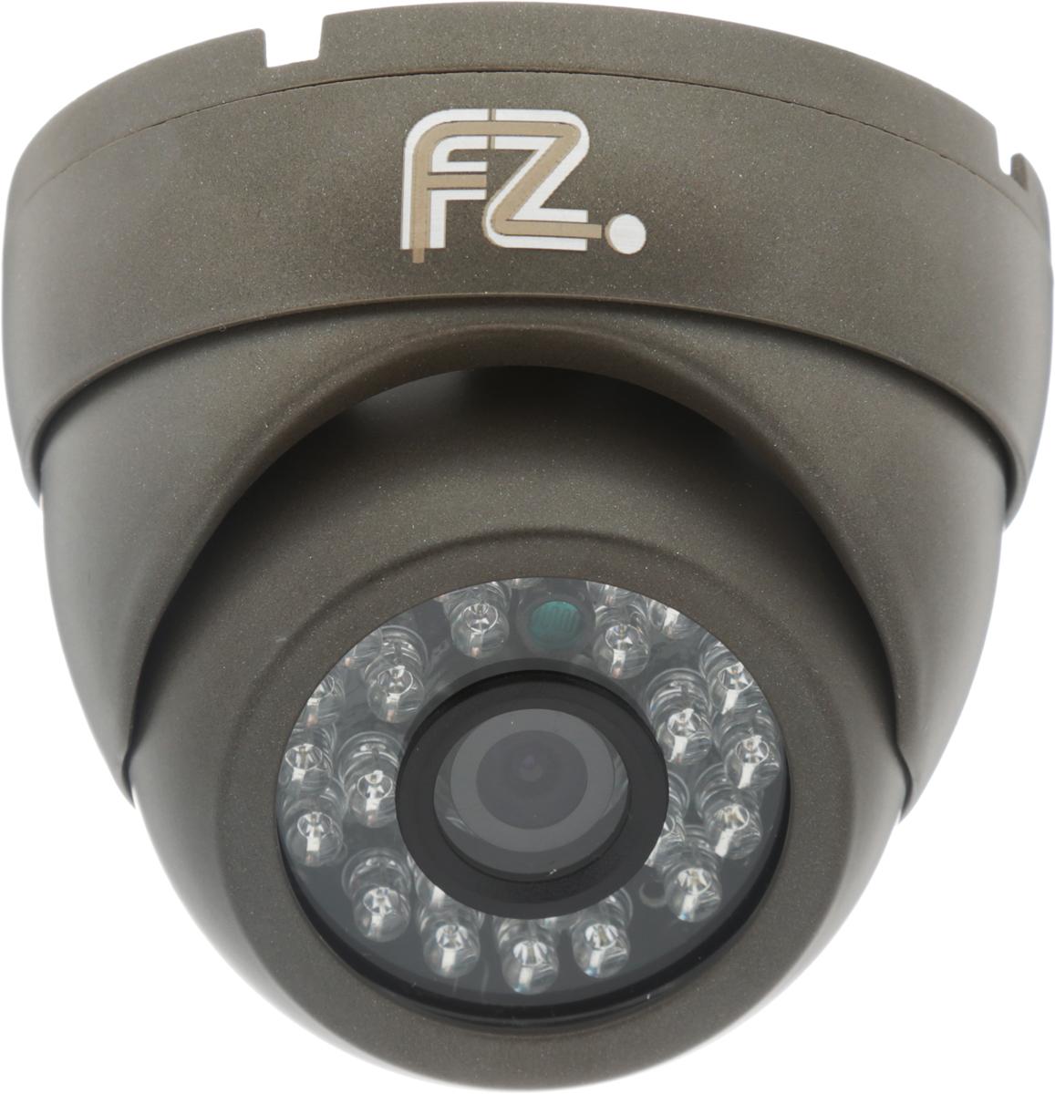 Fazera FZ-DIR24-720 камера видеонаблюденияFZ-DIR24-720Благодаря наличию инфракрасной подсветки дальностью 20 метров, и надежной защитой от атмосферных воздействий в широком диапазоне температур, камера видеонаблюдения Fazera FZ-DIR24-720 может эксплуатироваться на таких объектах, как уличные паркинги, складские помещения, отели, жилые дома и т.д.В основе камеры матрица 1/4 CMOS OmniVision OV9712 и процессор HiSilicon HI3518E благодаря чему уличная IP-камера Fazera FZ-DIR24-720 формирует изображение с разрешением до 1280x720 пикселей, с качественной цветопередачей и повышенной контрастностью, что позволяет использовать видеокамеру на объектах с высокими требованиями к качеству видеосигнала, и в системах с видеоаналитикой.Матрица: 1/4 CMOS OmniVision OV9712 Процессор: HiSilicon HI3518E Механический ИК-фильтр с автопереключением Настройки яркости, контраста, насыщенности через клиентское ПО или веб браузер Как выбрать камеру видеонаблюдения для дома. Статья OZON Гид