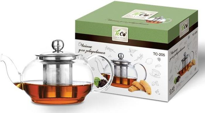 Чайник заварочный  Teco , 450 мл. TC -205 - Посуда для приготовления