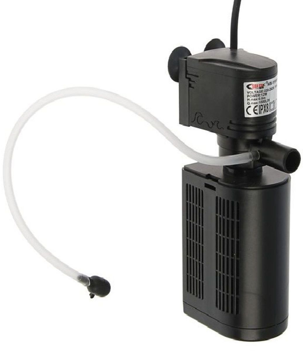 Фильтр для аквариума Sea Star HX-1180F2, внутренний, 12W, 1000 л/ч освещение для аквариума sea star t4 30cm green 1101269
