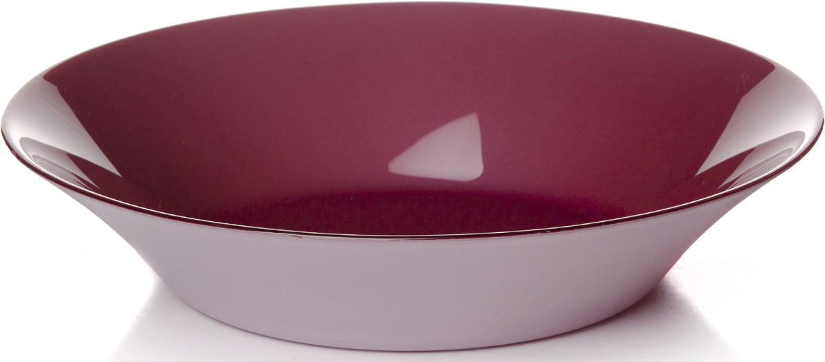 Тарелка глубокая Pasabahce Пепл Сити, цвет: фиолетовый, диаметр 22 см10335SLBD36Глубокая тарелка Pasabahce Пепл Сити выполнена из качественного стекла. Изящная тарелка прекрасно оформит праздничный стол и порадует вас и ваших гостей изысканным дизайном и формой.Диаметр тарелки: 22 см.Высота: 4,5 см.