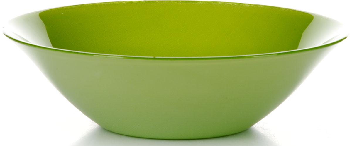 Салатник Pasabahce Грин Виллаж, цвет: зеленый, диаметр 23 см2138709Салатник Грин Виллаж изготовлен из упрочненного стекла зеленого цвета.Такой салатник украсит сервировку вашего стола и подчеркнет прекрасный вкус хозяина, а также станет отличным подарком.Диаметр салатника: 23 см. Высота: 6,7 см.