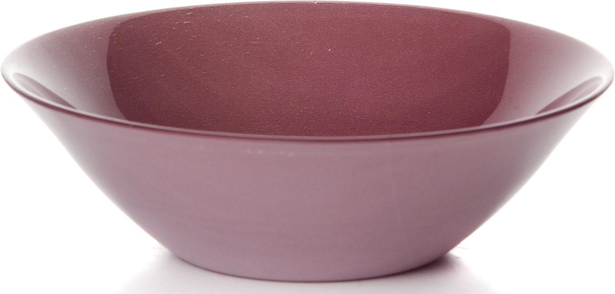 Салатник Pasabahce Пепл Сити, цвет: фиолетовый, диаметр 16 см салатник nina glass ажур цвет сиреневый диаметр 16 см