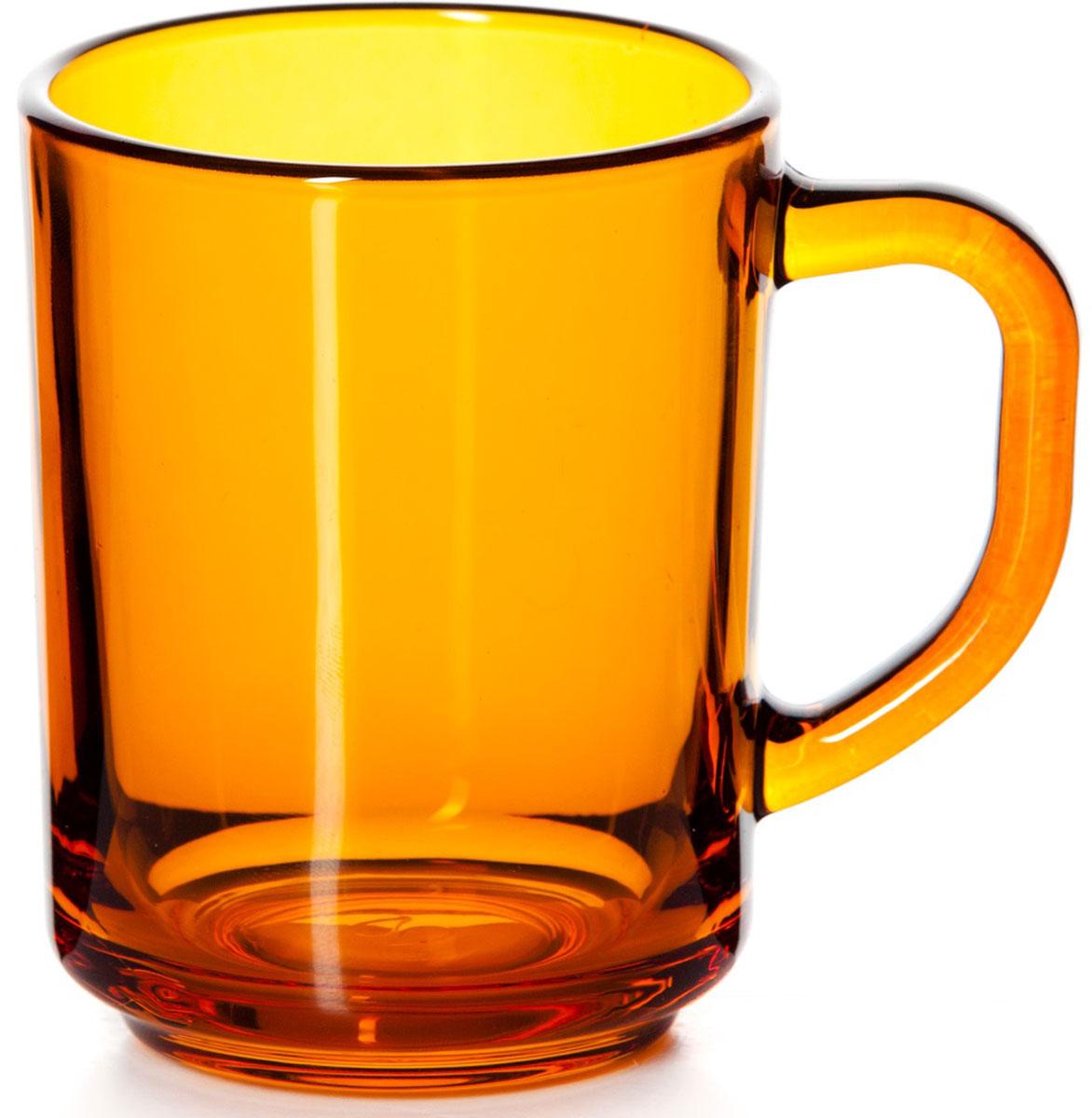 Кружка Pasabahce Энжой Оранж, цвет: оранжевый, 250 мл730632Кружка Pasabahce Энжой Оранж изготовлена из прозрачного цветного стекла.Изделие идеально подходит для сервировки стола.Кружка не только украсит ваш кухонныйстол, но и подчеркнет прекрасный вкус хозяйки. Объем кружки: 250 мл.