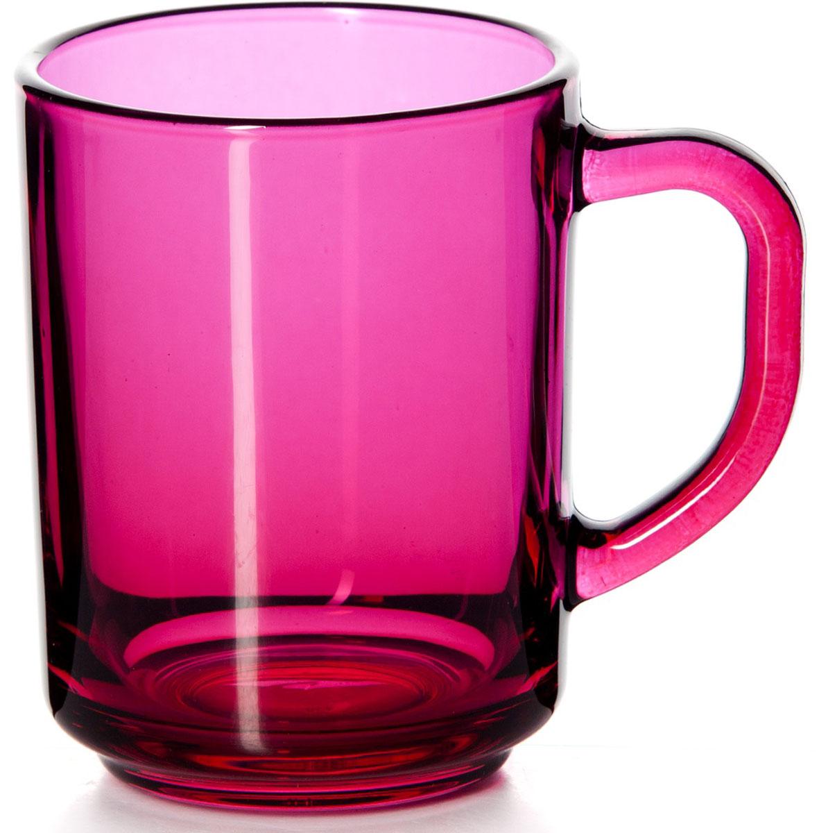 Кружка Pasabahce Энжой Фуксия, цвет: фуксия, 250 мл55029SLBD29Кружка Pasabahce Энжой Фуксия изготовлена из прозрачного цветного стекла. Изделие идеально подходит для сервировки стола.Кружка не только украсит ваш кухонный стол, но и подчеркнет прекрасный вкус хозяйки. Объем кружки: 250 мл.