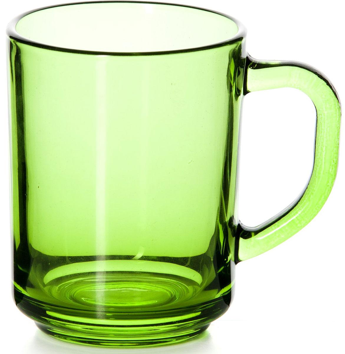 Кружка Pasabahce Энжой Грин, цвет: зеленый, 250 мл55029SLBD30Кружка Pasabahce Энжой Грин изготовлена из прозрачного цветного стекла. Изделие идеально подходит для сервировки стола.Кружка не только украсит ваш кухонный стол, но и подчеркнет прекрасный вкус хозяйки. Объем кружки: 250 мл.