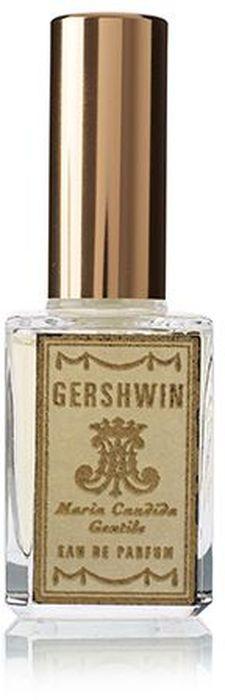 Maria Candida Gentile Парфюмерная вода Gershwin, 15 мл жилеты giovane gentile жилет