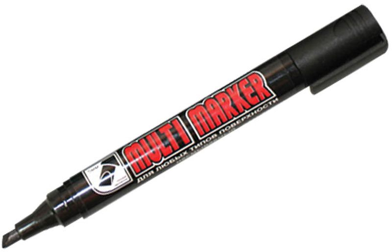 Crown Маркер перманентный Multi Marker черный CPM-800CHCPM-800CHПерманентный маркер Crown Multi Marker со скошенным наконечником предназначен для нанесения надписей на любую поверхность. Благодаря спиртовой основе, чернила после нанесения быстро высыхают и не стираются.