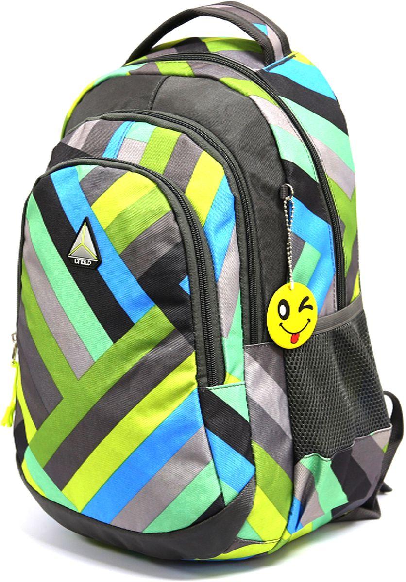 Рюкзак детский UFO people цвет серый 76307630