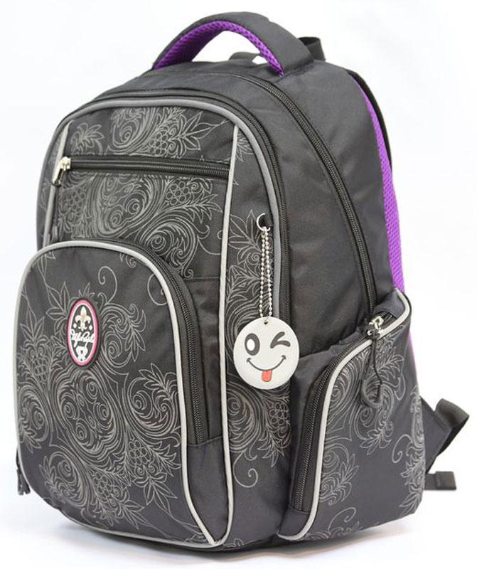 Рюкзак детский UFO people цвет серый 7667 ufo people рюкзак школьный цвет черный серый