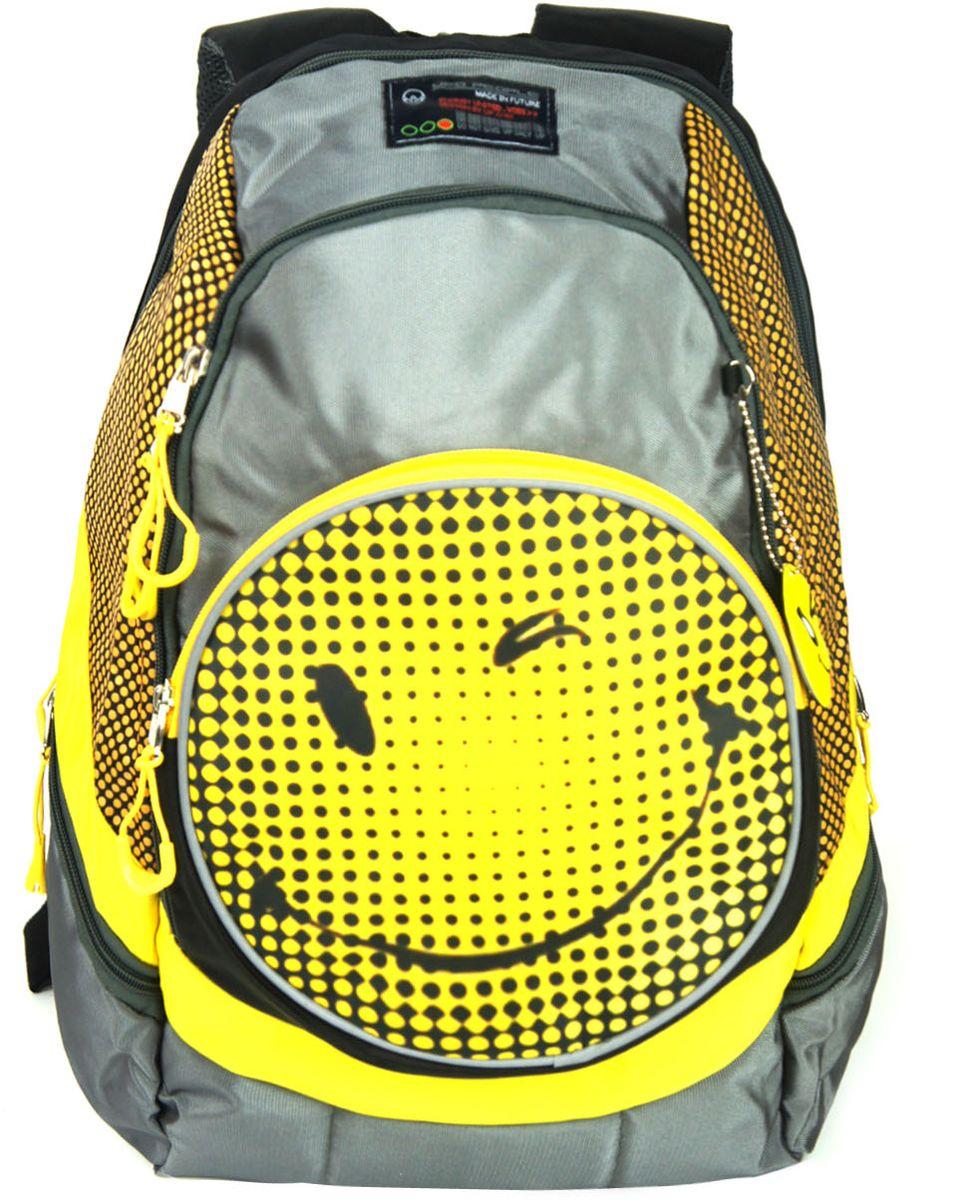Рюкзак детский UFO people цвет серый 77057705