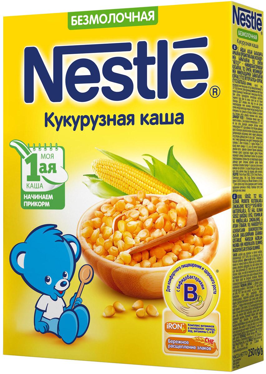 Nestle каша безмолочная кукурузная, 200 г каша безмолочная heinz многозерновая из 5 злаков с 6 мес 30 гр