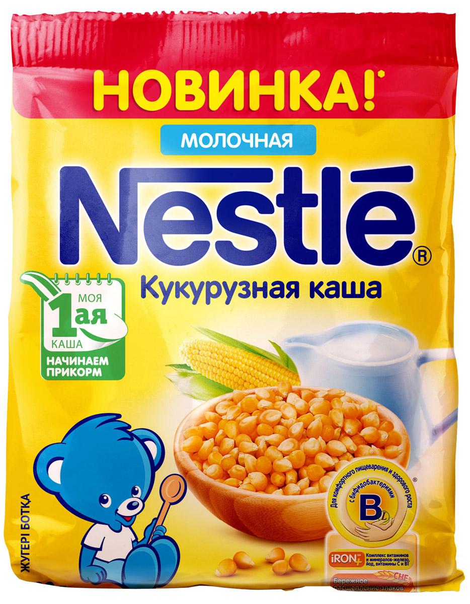 Nestle каша молочная кукурузная, 200 г -  Детское питание