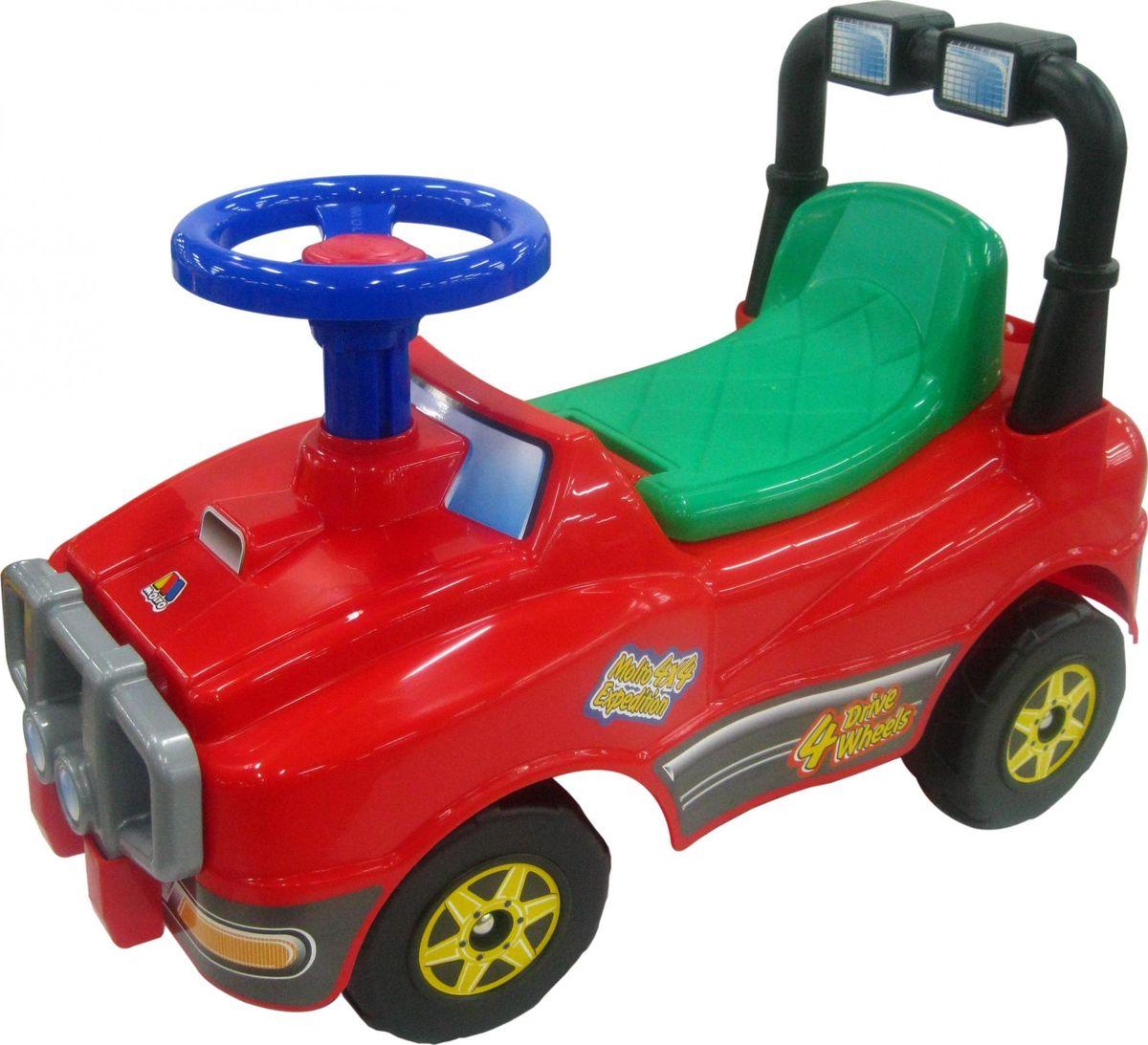 Полесье Автомобиль-каталка Джип №2 цвет красный - Каталки, понициклы