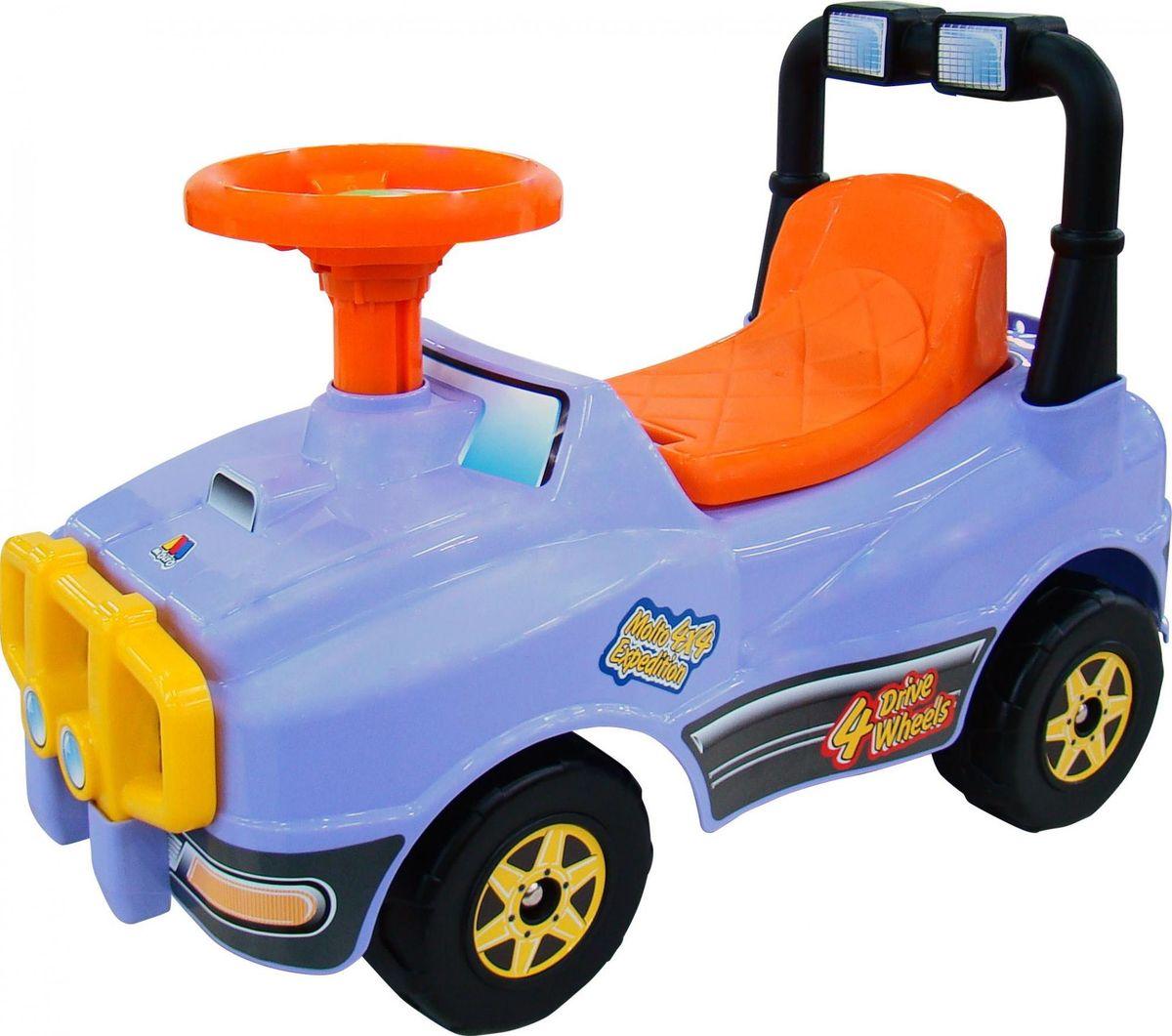 Полесье Автомобиль-каталка Джип №2 цвет сиреневый полесье каталка пикап с ручкой 2 цвет желтый