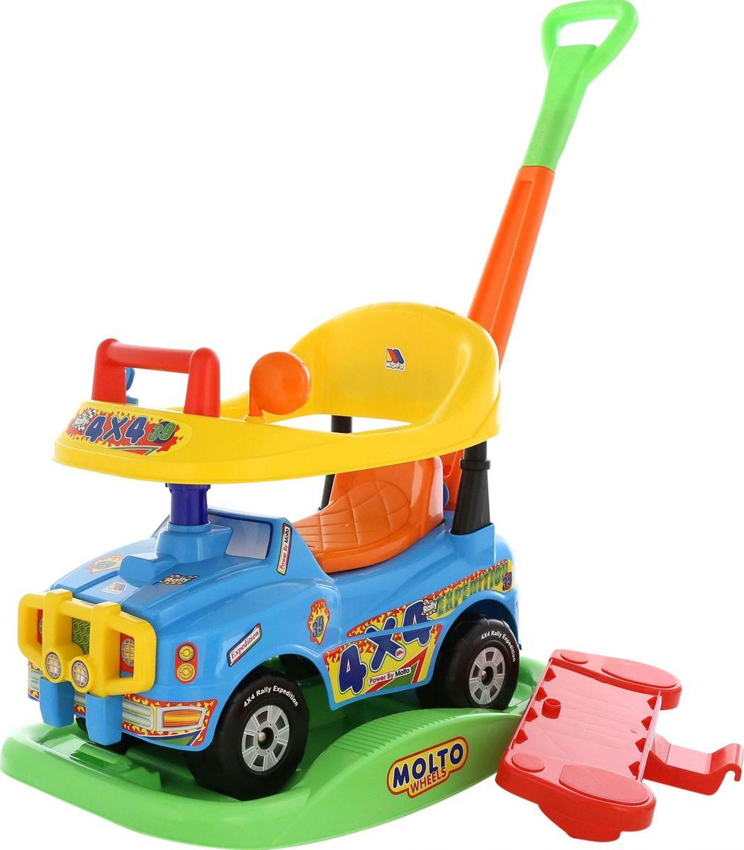 Полесье Автомобиль-каталка Джип Викинг цвет голубой -  Каталки, понициклы
