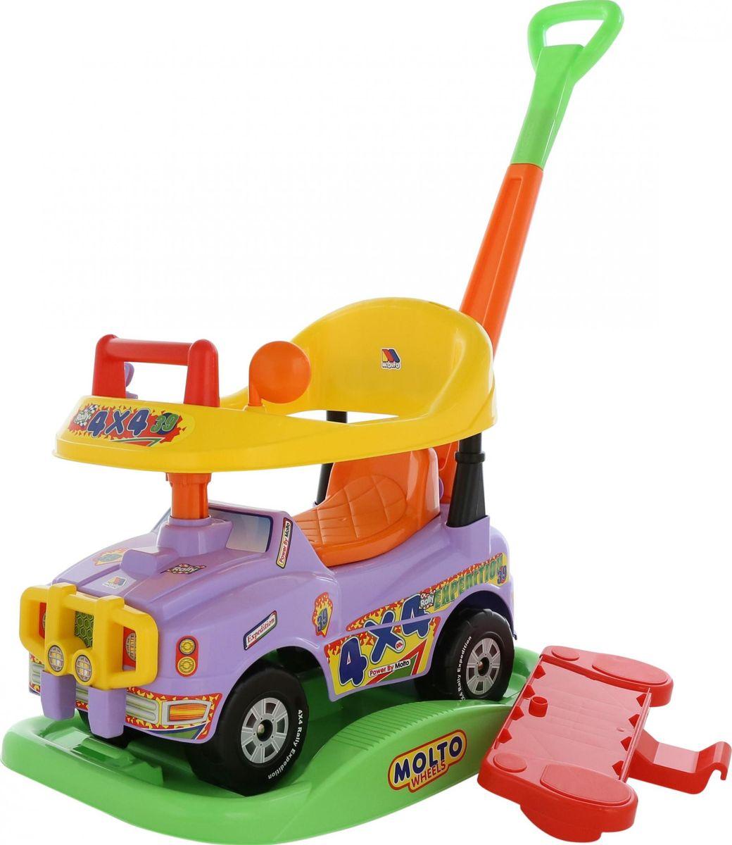 Полесье Автомобиль-каталка Джип Викинг цвет сиреневый -  Каталки, понициклы