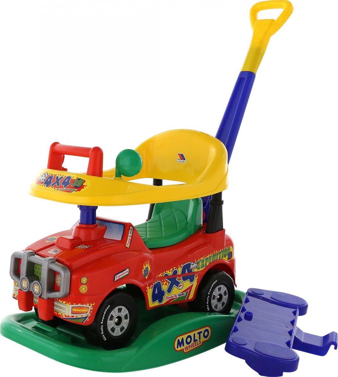 Полесье Автомобиль-каталка Джип Викинг №2 цвет красный -  Каталки, понициклы