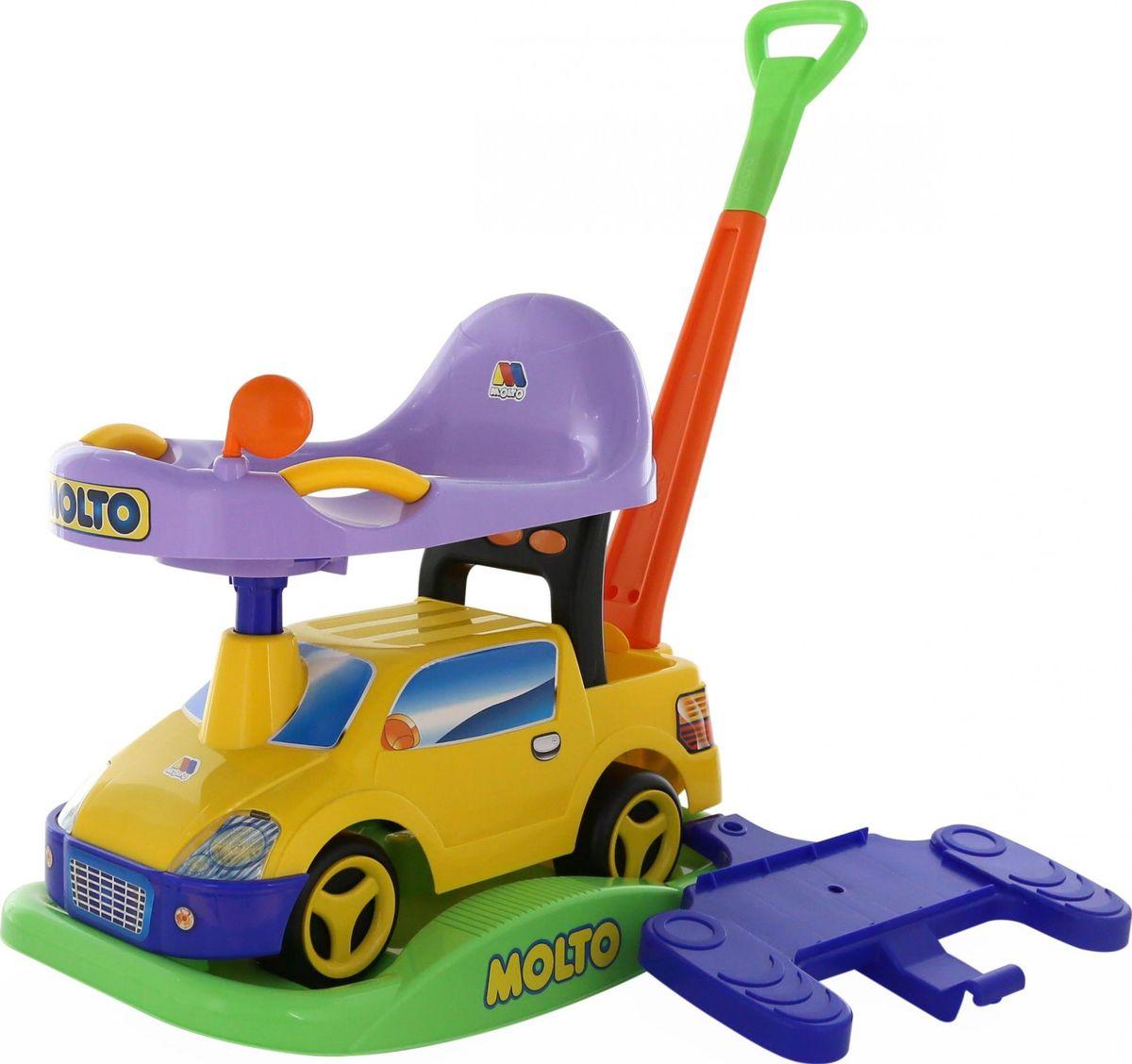 Полесье Каталка Пикап №2 цвет желтый полесье гоночный автомобиль торнадо цвет желтый