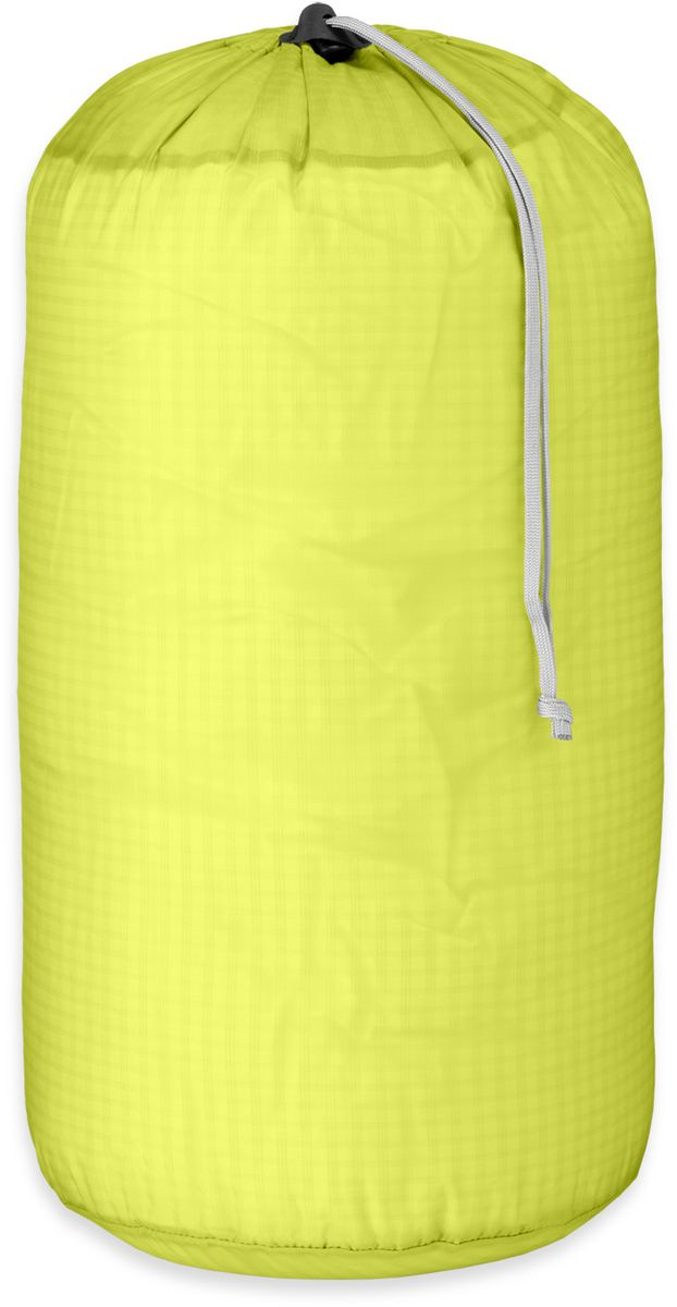 Мешок влагозащитный Outdoor Research Ultralight Stuff Sack, цвет: желтый, 15 л2427580489Влагозащитный мешок Outdoor Research выполнен из прочного нейлона. Изделие исключает промокание благодаря водоотталкивающей пропитке. Мешок легкий, износостойкий и функциональный. Закрывается путем стягивания шнурка и фиксации кулиски.