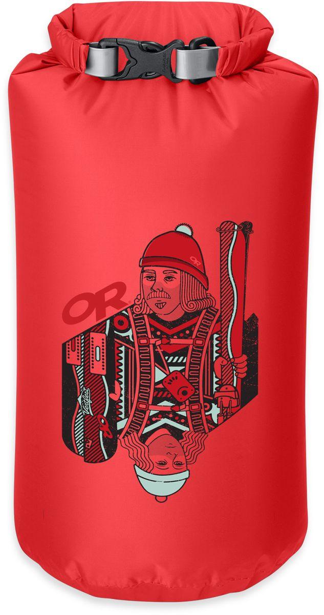 Гермомешок Outdoor Research  Vert Fest Dry Sack , цвет: красный, 15 л - Герметичные и компресионные мешки