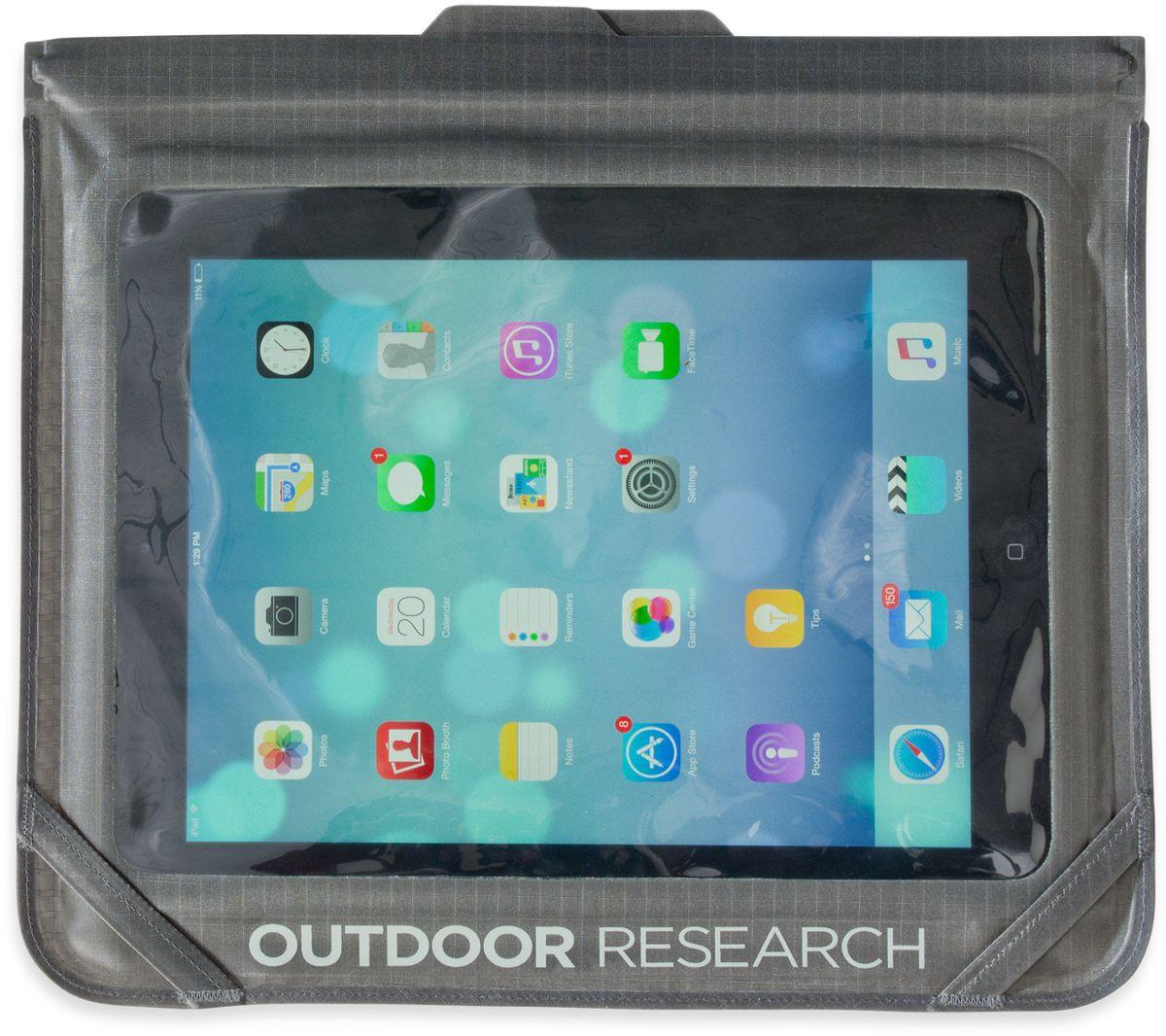 Гермочехол для планшета Outdoor Research  Sensor Dry Envelope Medium , цвет: серый - Гермомешки