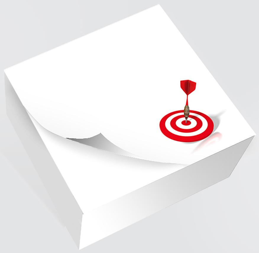 Фолиант Блок для записей Мишень 8,5 x 8,5 см 200 листовБКД-200БС/3Блок бумаги Фолиант Мишень идеально подходит для быстрой фиксации информации. Блок бумаги изготовлен на картонной подложке, листы проклеены по торцу. Благодаря специальной проклейки, листы блока не рассыпаются. Порядок на столе гарантирован. Печать на листах добавит вам хорошего настроения.Особенности:- яркий, оригинальный дизайн; - листы склеены в блок.