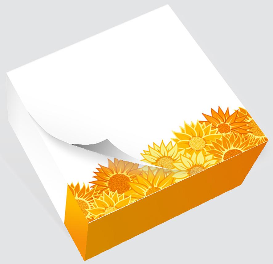 Фолиант Блок для записей Подсолнухи 8,5 x 8,5 см 200 листовБКД-200БС/8Блок бумаги Фолиант Подсолнухи идеально подходит для быстрой фиксации информации. Блок бумаги изготовлен на картонной подложке, листы проклеены по торцу. Благодаря специальной проклейки, листы блока не рассыпаются. Порядок на столе гарантирован. Печать на листах добавит вам хорошего настроения.Особенности:- яркий, оригинальный дизайн; - листы склеены в блок.