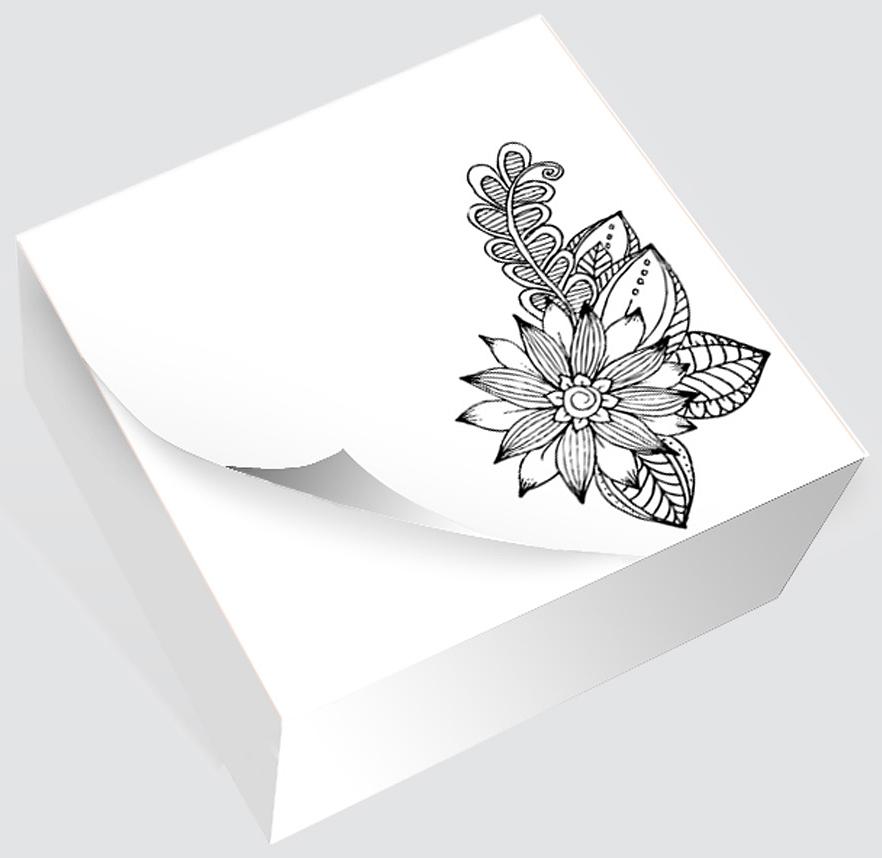 Фолиант Блок для записей Антистресс Цветок 8,5 х 8,5 см 200 листовБКД-200БС/14Блок бумаги Фолиант Антистресс. Цветок идеально подходит для быстрой фиксации информации. Блок бумаги изготовлен на картонной подложке, листы проклеены по торцу. Благодаря специальной проклейки, листы блока не рассыпаются. Порядок на столе гарантирован. Специальноподобранныйрисунокантистрессна листке блока, помогает справиться с усталостью и стрессом на работе.Особенности:- наличие картинки антистресс; - листы склеены в блок.