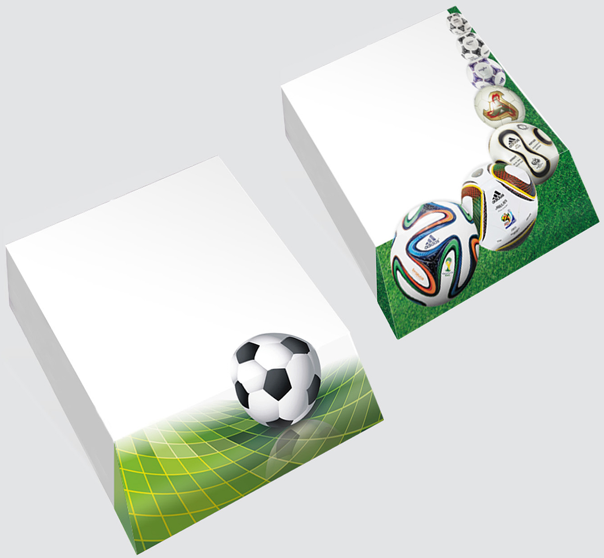 Фолиант Комплект блоков для записей Футбол 300 листов