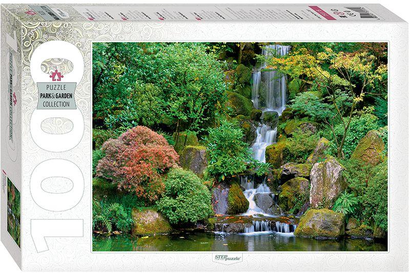 Step Puzzle Пазл Водопад в японском саду 1000 элементов