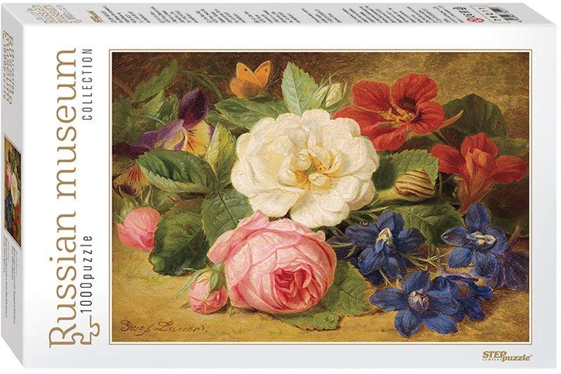 Step Puzzle Пазл для малышей Букет цветов с улиткой набор бомик букет цветов 382