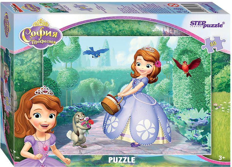 Step Puzzle Пазл для малышей Принцесса София 81133 пазл step puzzle принцесса софия disney 104 элементов