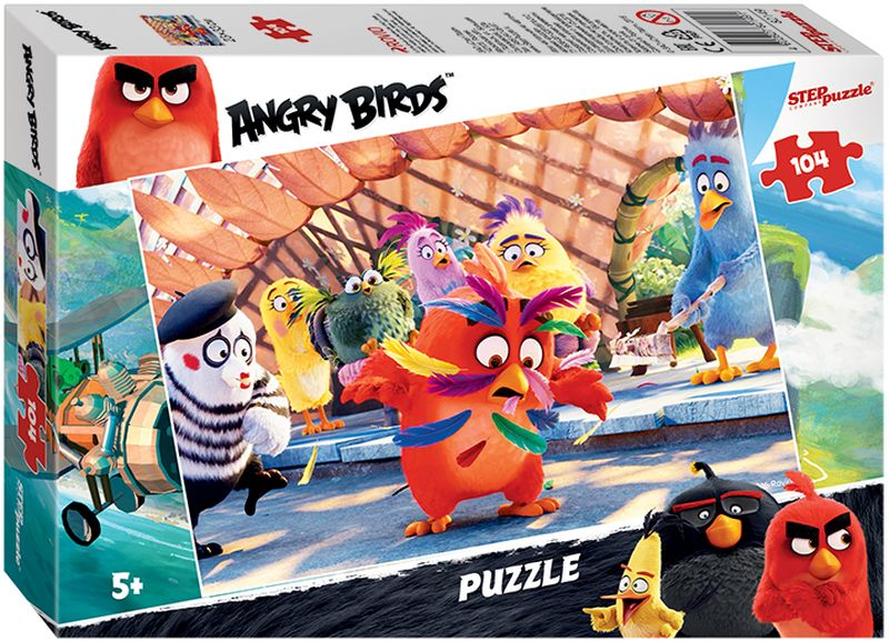 Step Puzzle Пазл для малышей Angry Birds 82149