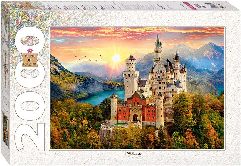 Step Puzzle Пазл Сказочный замок