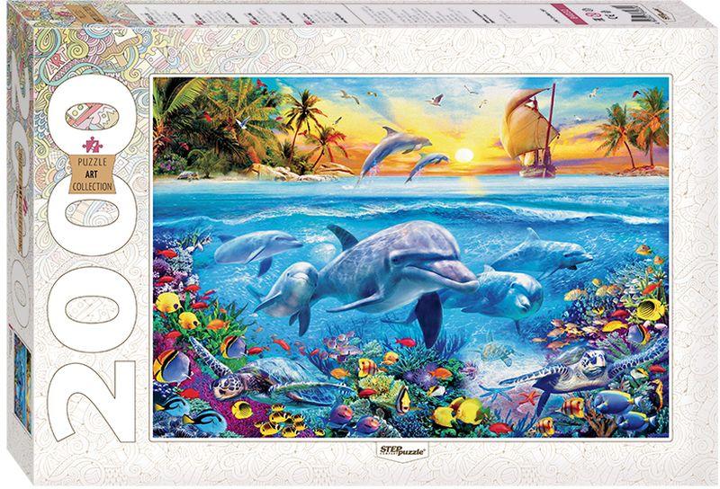 Step Puzzle Пазл Дельфины