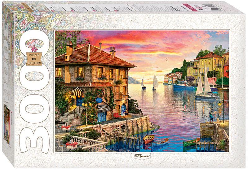 Step Puzzle Пазл Средиземное море 3000 элементов