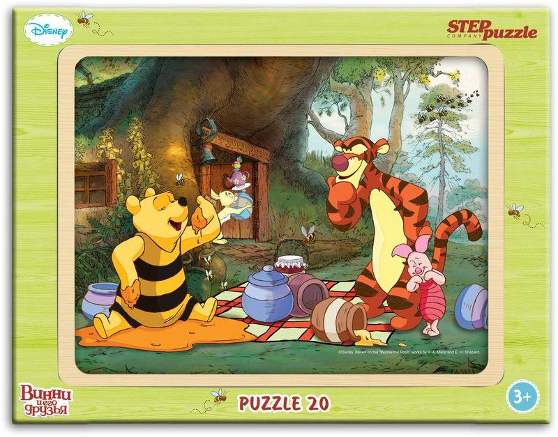Step Puzzle Пазл для малышей Виннииегодрузья 89124 пазл 3d 60 элементов step puzzle disney винни пух 98108
