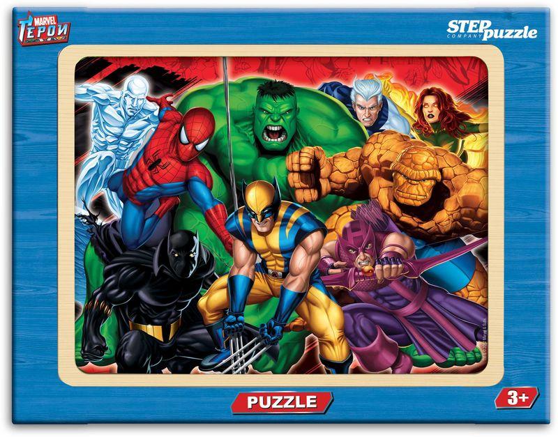 Step Puzzle Пазл для малышей Герои step puzzle книжка пазл на лугу