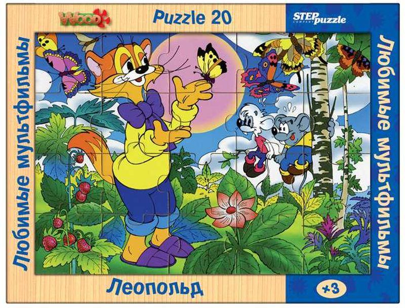 Step Puzzle Пазл для малышей Леопольд пазлы magic pazle объемный 3d пазл эйфелева башня 78x38x35 см