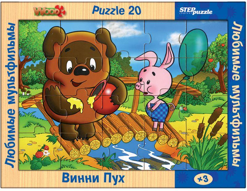Step Puzzle Пазл для малышей Винни Пух пазл 3d 60 элементов step puzzle disney винни пух 98108