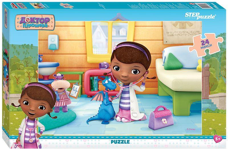 Step Puzzle Пазл для малышей Доктор Плюшева 90023